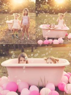 This is so adorable! I love the pink against the natural background & lighting. :) This picture reminds me of me and my little sister :) #hopeandmemory