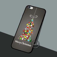 Christmas Tree Baubles - iPhone 7 6 5 SE Cases & Covers