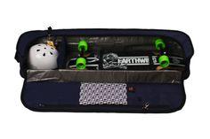 Silverfish Longboarding Skateboard Travel Bag