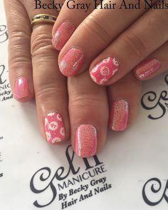 #gelii #manicure secret heart #magpieglitter #magpieglitter Lilly #moyoulondon #nailart #cathkidston #showscratch #tcbg