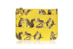 Kenzo Jungle Tiger Letters Pouch