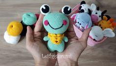 Leithygurumi: Cute Little Büyük Göz Kurbiş(Frog) English and Turkish Pattern / Amigurumi Büyük Göz Kurbiş Türkçe ve İngilizce Tarif