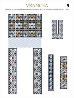 eleva - ie Vrancea (JPEG Image, 1200 × 1600 pixels) — Масштабоване Folk Embroidery, Embroidery Patterns, Cross Stitch Patterns, Knitting Patterns, Hama Beads, Beading Patterns, Pixel Art, Loom, Tapestry