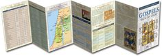 Compare the four gospels in the Bible at a glance! The Gospels Side-by-Side: Harmony Of The Gospels Pamphlet - Rose Publishing