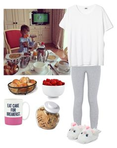 """Breakfast with my son in Paris ☕️"" by emma-horan-73 on Polyvore featuring mode, NIKE, The Cellar, Mikasa, Kate Spade et OXO"