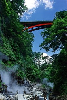 #Oyasukyo_Hot_Spring, #Akita, #Japan http://directrooms.com/japan/hotels/akita-hotels/price1.htm