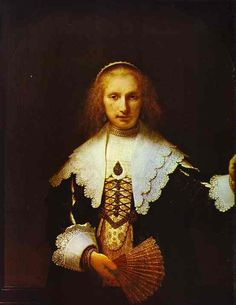 Rembrandt. Portrait of Agatha Bas, Wife of Nicolas van Bambeeck. 1641. Oil on canvas. Royal Collection, Buckingham Palace, London, UK.
