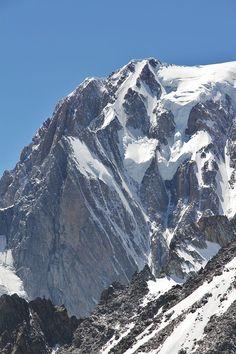 2. Mont Blanc de Courmayeur, 4748m, Mont Blanc Massif, Alps