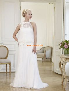 Salle intérieure A-line Balayage / pinceau train Robes de mariée 2014