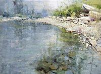 "Ruby Beach Fog by Mike Wise Oil ~ 18"" x 24"""