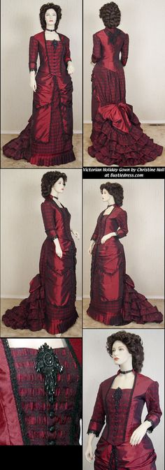 Hall Christine by Holidays the for Costume Gown Bustle