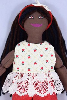 African American Girl Doll  Kids Toy