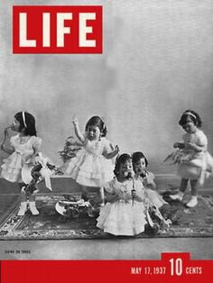 Buy Life Magazine May 1937 - Cover: Going on Three (Dionne Quintuplets) by He.this is the one gift you will always appreciate for its teaching approaches Life May 17 1937 - A well-preserved y. Life Magazine, History Magazine, Vintage Magazines, Vintage Photos, Vintage Photographs, Magazine Front Cover, Magazine Covers, Life Cover, Miracle Baby