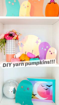 Diy Halloween Gifts, Halloween Crafts For Toddlers, Adult Halloween Party, Diy Halloween Decorations, Fall Halloween, Halloween Activities, Easy Fall Crafts, Fall Diy, Fall Home Decor