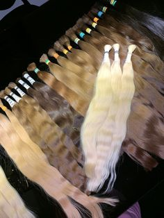 Russisches Schnitthaar Hair Quality, Hair Extensions, Vip, Cool Hairstyles, Tie Dye, Women, Weave Hair Extensions, Extensions Hair, Fancy Hairstyles