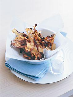 crunchy parsnip ribbons
