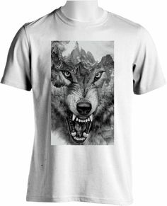 Excited to share the latest addition to my etsy shop: Wolf Mountain T-shirt, Unisex, High Quality Print, DTG Printing, T-shirt Printing, Men's T-shirt, XXL-XXXXL http://etsy.me/2nLyFn9 #clothing #shirt tees4u #stagparty #valentinesday #tshirt #highquality #unisex #top