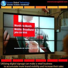 Utilizing #digitalsignage can make a #retail #business to accumulate more #brand #visibility and increase their #sales. #TucanaGlobalTechnology #Manufacturer #HongKong