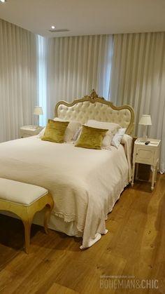 Dormitorio con muebles personalizados de estilo clásico renovado | Bohemian and Chic