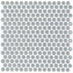 "Found it at Wayfair - Bliss 0.75"" x 0.75"" Ceramic Mosaic Tile in Modern Gray"