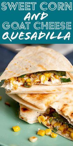 Quesadillas, Cheese Quesadilla Recipe, Quesadilla Recipes, Mexican Food Recipes, Vegetarian Recipes, Mexican Dishes, Meal Recipes, Veggie Recipes, Yummy Recipes