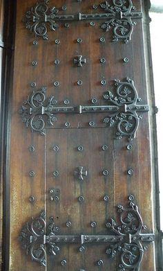 door in Lourdes