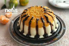 Γλυκό με χυμό Μανταρινιού Princess Crown Greek Desserts, Greek Recipes, Honey Dessert, Afternoon Tea, Chocolate Cake, Panna Cotta, Caramel, Tart, Deserts