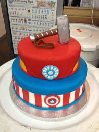 Image result for avengers cakes