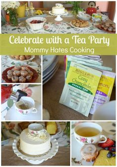 Celebrate with a Bigelow Tea Party #MeandMyTea #ad