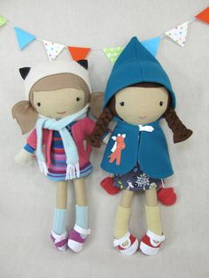 Studio Doll  Lotta. Handmade Doll Eco Friendly by ViolaStudio