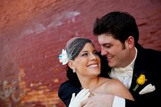 Wedding day - once again in front of brick. Photo by Kevin Trimmer Engagement Photography, Wedding Photography, Providence Rhode Island, Wedding Flowers, Wedding Day, Midsummer Nights Dream, Brick, Mary, Couples
