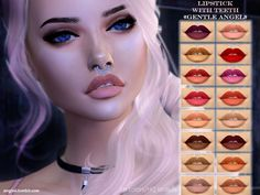 base game Found in TSR Category 'Sims 4 Female Lipstick'