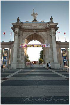 CNE (Canadian National Exhibition) Princes' Gates. NOT Princess Gates, Princes' Gates. Thank you.