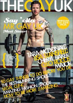Inside Issue 2 Mr Gay UK says 'ello, Cleo Rocos, Tara McDonald, Lisa Stansfield, Cheryl