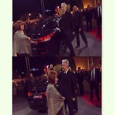 Alan Rickman and Rima Horton at the Marrakech Film Festival, Morocco December 11, 2014  Credit photo: crouch_jr