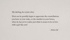 Nikita Gill #poetry