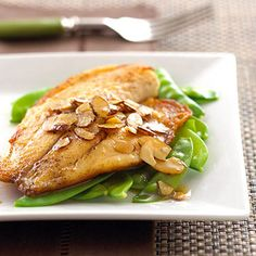 Tilapia with Almond Butter | Midwest Living