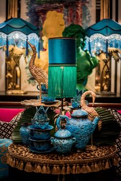 Boutique Decor, Bohemian Tapestry, Deco Originale, Jewel Tones, Minimalist Home, Victorian Homes, Color Inspiration, Living Room Decor, Lounges