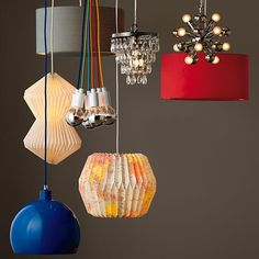 Looseleaf Pendant Shade (World) in Ceiling Fixtures | The Land of Nod