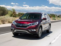 Compact SUV Comparison: 2016 Honda CR-V
