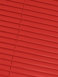 Red and black roller blind
