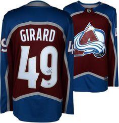49a63dce5 Samuel Girard Avalanche Autographed Red Fanatics Breakaway Jersey -  Fanatics National Hockey League