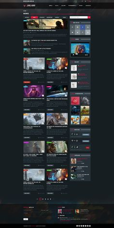 GoodGames – a universal professionally crafted PSD Template for gaming, news and entertainment content. It's perfect for any game studio, creative agency, startup, news portal or just your personal website.