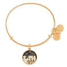 Haunted Mansion Singing Busts Bangle by Alex and Ani