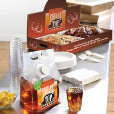 Showcase your food and allow your brand to speak to your customers with our NEW! Pop-Up Catering Tray