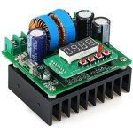 032301 High Efficiency 400W Digital DC to DC Constant Current Voltage CNC Boost Module with 6  -  40V Input Voltage
