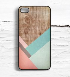 iPhone Coral Striped Wood Pattern Case by Hello Nutcase on Scoutmob Shoppe. An iPhone 4/4S or 5 case made from aluminum and plastic with a hand-drawn coral striped wood pattern print.