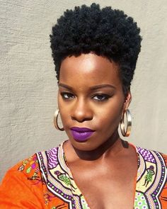 Image result for Tapered TWA Natural Hair 4C Hair Cut