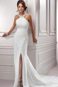 beach wedding dress - wow..I need this to be my wedding dress