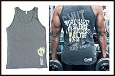 Work Hard in Silence Let Success Make the Noise - Shut Up & Train, Super Soft Unisex Tank Top, 50% cotton / 50% polyester